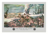 The Rock of the Marne Autocollant mural par Mal Thompson