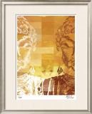 Reflections of Buddha II Limited Edition Framed Print by M.J. Lew
