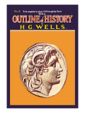 Outline of History by H.G. Wells, No. 8: Alexander Wall Decal