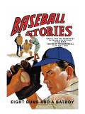 Baseball Stories: Eight Bums and a Batboy Wall Decal