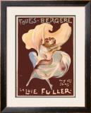La Loie Fuller Framed Giclee Print by  PAL (Jean de Paleologue)