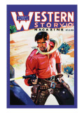 Western Story Magazine: Western Business Wall Decal