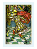 The Yellow Dwarf, Battle, c.1878 Wall Decal by Walter Crane