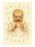 Sweetie's Alphabet Wall Decal by Ida Waugh