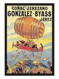 Conac Jerezano Gonzales-Byass Wallstickers af Eugene Oge
