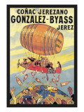 Conac Jerezano Gonzales-Byass Wall Decal by Eugene Oge