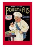 Manteigas Pouey and Fils Wallstickers af Eugene Oge