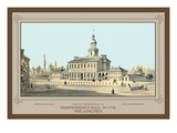 Independence Hall in 1776, Philadelphia Wall Decal by Thompson Westcott