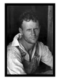 Floyd Burroughs, Cotton Sharecropper Wall Decal by Walker Evans