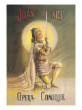Joan of Arc: Opera Comique Wall Decal