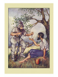 Robinson Crusoe: I Went to Him and Gave Him a Handful of Raisins Wall Decal by Milo Winter