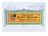 Scott's Laundry Wall Decal