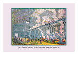 View in Gas Works Wall Decal by John Howard Appleton
