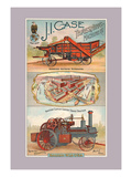 J.I. Case Threshing Machine Co., Racine, Wisconsin Wall Decal