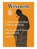 Moudrost Lepicí obraz na stěnu
