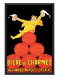 Biere de Charmes Wallsticker af Jean D' Ylen