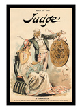 Judge Magazine: In Commemoration Wall Decal by Grant Hamilton
