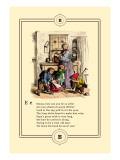 Little Lily's Alphabet: Emma Wall Decal by Oscar Pletsch