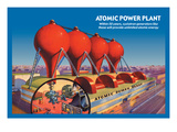 Atomic Power Plant Wall Decal