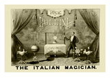 Professor Bollini, The Italian Magician Wall Decal