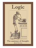 Logic, The Anatomy of Thought Wall Decal by John Locke