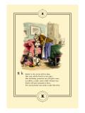 Little Lily's Alphabet: Katie Wall Decal by Oscar Pletsch