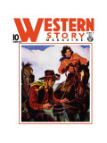 Western Story Magazine: Living the Cowboy Way Wall Decal