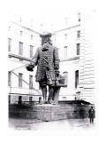 Statue of William Penn in Courtyard of City Hall, Philadelphia, Pennsylvania Wall Decal