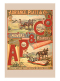 Adriance, Platt and Co., Mowers, Reapers and Binders Wall Decal