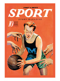 Sport Story Magazine: Stiff Competition Wall Decal