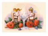The Cream of Love Wall Decal by  Currier & Ives