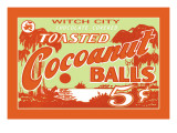 Toasted Cocoanut Balls Wall Decal