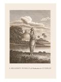 Brahmin Woman Wall Decal by Baron De Montalemert
