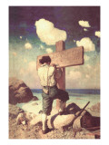 The Great Cross Wall Decal by Newell Convers Wyeth