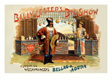 Billy Lester's Big Show Wall Decal