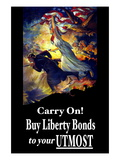 Carry On! Buy Liberty Bonds to Your Utmost Wall Decal by Edwin Howland Blashfield