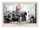 The Actor's Climax: Proteus as Manager of a Theatre Royal in the Metropolis Wall Decal by Pierce Egan