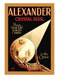 Alexander, The Crystal Seer Wall Decal