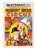 Robert Brothers' Circus at Bletchley Market Field Wall Decal