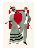 Valentine Couple Wall Decal