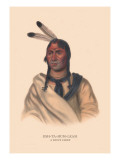 Esh-Ta-Hum-Leah, Sioux Chief Wall Decal