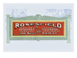 Rosenfield Wall Decal