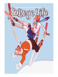College Life: Falling Down Wall Decal