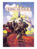 King Arthur Wall Decal by Newell Convers Wyeth