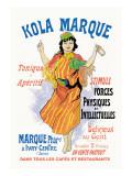 Kola Marque Tonique et Apertif Wall Decal by Jules Chéret