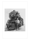 War Information Photographer Jack Delano and Train Wall Decal by Jack Delano