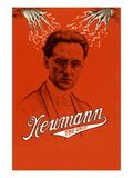 Newmann the Great, Electric! Wall Decal