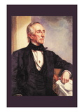 John Tyler Wall Decal by George Peter Alexander Healy