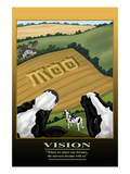 Vision Wall Decal by Richard Kelly
