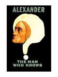 Alexander, The Man Who Knows Wall Decal